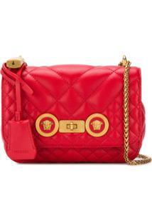 Versace Bolsa Tiracolo Medusa - Vermelho
