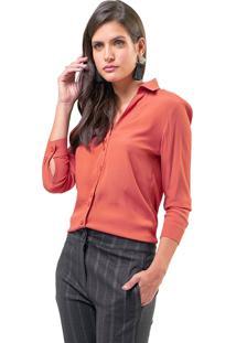 Camisa Mx Fashion Viscose Alissa Coral