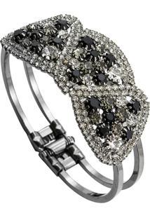 Bracelete Tudo Jóias Folheado Black