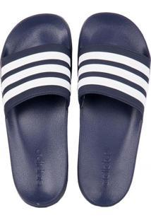 df9443049a8 ... Chinelo Adidas Slide Adilette Shower Azul Branco 38 39