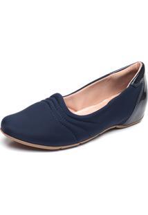 Sapatilha Comfortflex Comfort Azul-Marinho