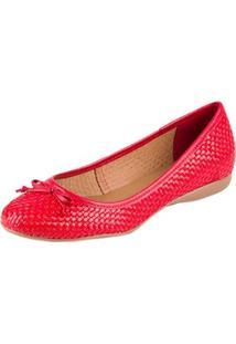 Sapatilha Bottero - Feminino-Vermelho