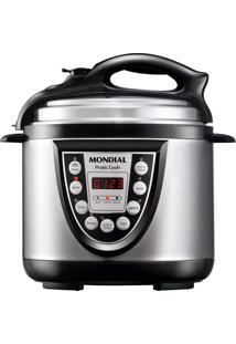 Panela Elétrica De Pressão Mondial Pratic Cook 4L Premium - 6 Funçõ. - 220 V