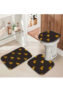 Jogo Tapetes Para Banheiro Páscoa Premium