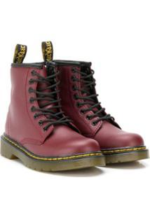 Dr. Martens Kids Ankle Boot - Vermelho