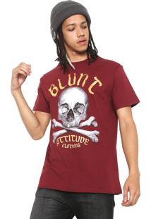 Camiseta Blunt Skuul Vinho