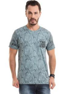 Camiseta Tropical Vibes Verde Bgo