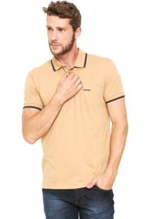 Camisa Polo Sommer Reta Bege