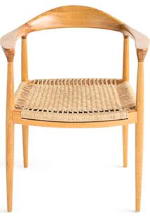Cadeira The Chair Em Fibra Design By Hans J. Wegner