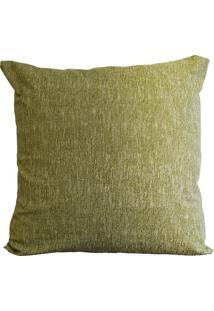 Capa De Almofada Decore Verde Rajado 1 Peça Têxtil Lar