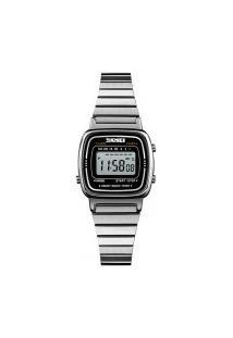 Relógio Skmei Feminino -1252- Prata