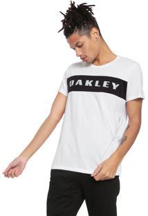 Camiseta Oakley Mod Crossrange Dry Sp Branca