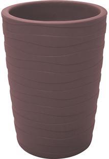 Vaso De Plástico Grego-S Terracota - Tramontina
