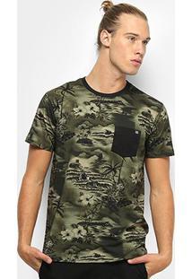 Camiseta Billabong Flamo Masculina - Masculino