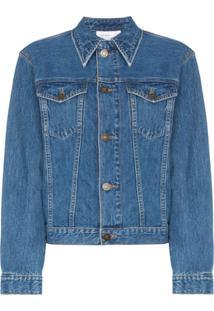 b5fc4f9da R$ 1727,00. Farfetch Jaqueta Calvin Klein Feminina Azul De Grife Jeans ...
