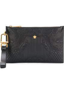 Versace Bolsa Clutch 'Medusa' - Preto