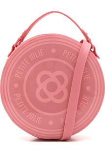Bolsa Petite Jolie Monograma Rosa