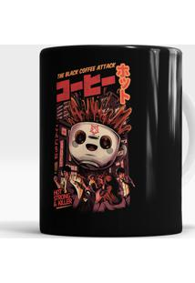 Caneca Black Coffee Attack