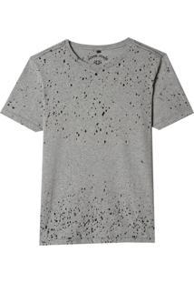 Camiseta John John Basic Devore Mescla Claro Masculina (Mescla Claro, M)