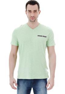 Camiseta Masculina Ocean Bay - Verde