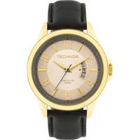 c03e11f4ea8cf Relógio Technos Executive 2115Kte 2X Masculino - Masculino-Dourado