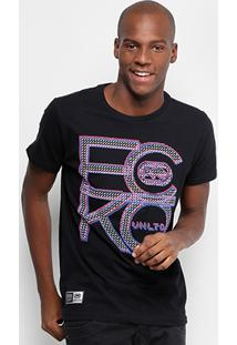 Camiseta Ecko Estampada We Are Unlimited Masculina - Masculino-Preto