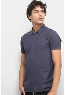Camisa Polo Colcci Lisa Masculina - Masculino-Azul Escuro
