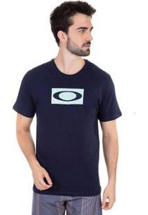 Camiseta Oakley Mod Mesh Ellipse Tee - Masculino-Azul