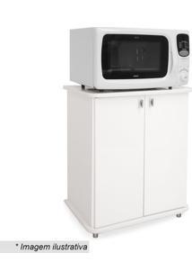 Armário Com Portas- Branco- 76X60X43Cm- Movelbenmovel Bento