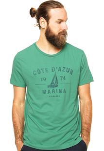 Camiseta Richards Estampa Verde