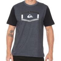 Camiseta Quiksilver Tripple Masculina - Masculino bea9be3dd0