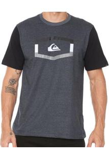 Camiseta Quiksilver Tripple Masculina - Masculino