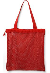 Bolsa Havaianas Beach Bag Cool Vermelho - Kanui