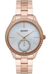 Relógio Orient Feminino Madrepérola Analógico Dourado Frss0031-B1Rx - Kanui
