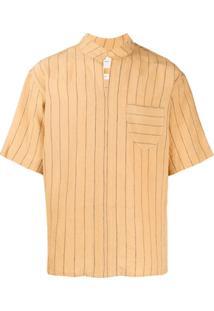 Nicholas Daley Camisa Mangas Curtas Moroccan - Amarelo
