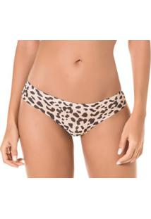 Kit 3 Calcinhas Tanga Zee Rucci Animal Print Laser