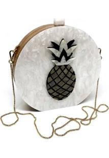 Bolsa Clutch Abacaxi