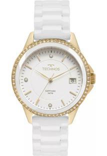 99ae2029eb3 ... Relógio Feminino Technos 2315Kzs 4B Ceramica - Feminino-Branco
