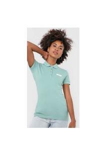 Camisa Polo Colcci Logo Verde