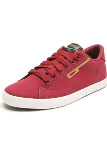Sapatênis Coca Cola Shoes Ilhoses Vinho