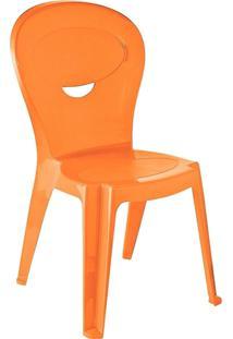 Cadeira Monobloco Laranja Vice 92270090 Tramontina