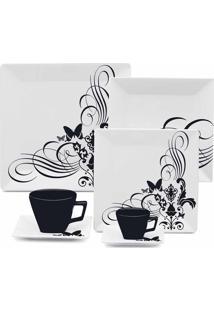Jogo De Jantar Chá E Café 42 Peças Quartier Tattoo 003323 Oxford