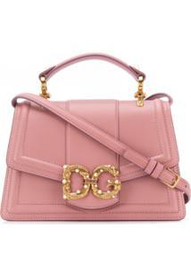 Dolce & Gabbana Bolsa Tiracolo 'Dg Amore' - Rosa