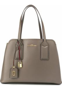 Marc Jacobs Bolsa Tiracolo The Editor - Cinza