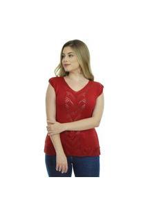 Blusa Tricot Sandra Feminina Shopping Do Tricô Verão Linha