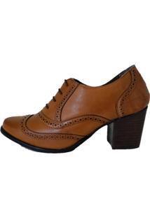 Bota Oxford Comitiva Boots Conhaque