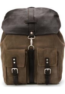 Eleventy Drawstring Backpack - Cinza