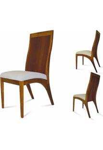 Cadeira Madri Madeira Maciça Design Retrô