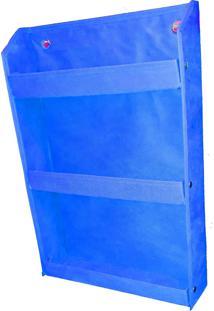 Revisteiro Prateleira Montessoriano Organibox Azul