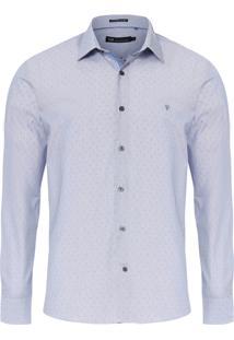 Camisa Masculina Office - Cinza